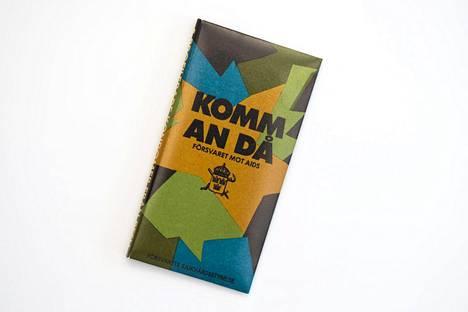 Komm an då – kondomi Ruotsin puolustusvoimille. Valmistus alkoi vuonna 1987.