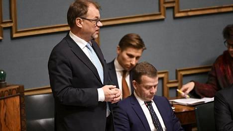 Pääministeri Juha Sipilä hallituksen tavoitteena oli nostaa kausitasoitettu työllisyysaste 72 prosenttiin kuluvalla hallituskaudella.