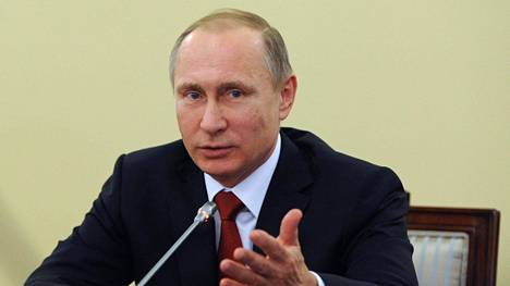 Vladimir Putinin allekirjoittama laki julkistettiin tänään.