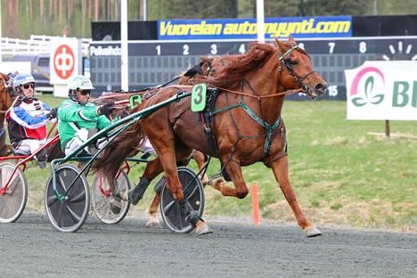 Lissun Eerikki oli rataennätysvauhdissa Sorsasalossa.