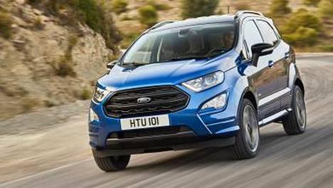 Nelivetoa ja nyt myös sportti-ilmettä on luvassa myös Ford EcoSportiin.
