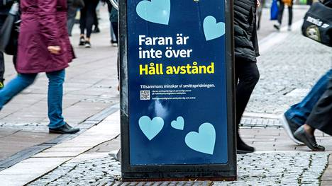 Koronatilanne on Pohjois-Ruotsissa huono. Viime viikolla Norrbottenissa todettiin 589 uutta tartuntatapausta.