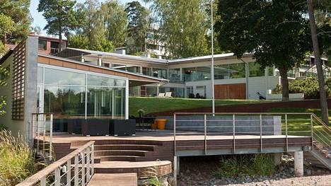 Suomen kallein, Etuovella ja Oikotiellä myynnissä oleva asunto, sijaitsee Helsingin Lauttasaaressa.