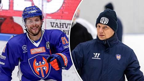 Jukka Peltola ja Jussi Tapola ovat voittaneet yhdessä kaksi Suomen mestaruutta, mutta nyt heidän välinsä ovat viilenneet.