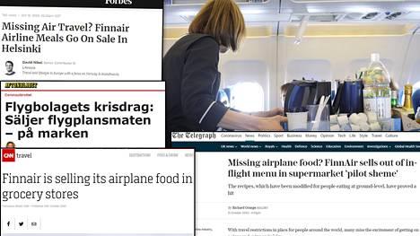 Asiasta uutisoitiin isoissa medioissa useissa maissa.