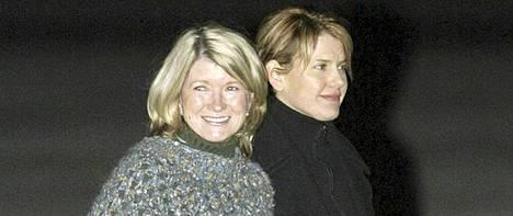 Martha Stewart (vas.) oli ankara äiti tyttärelleen Alexisille.