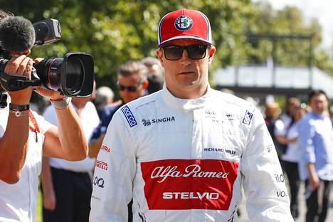 Kimi Räikkönen on nyt Alfa Romeon mies.