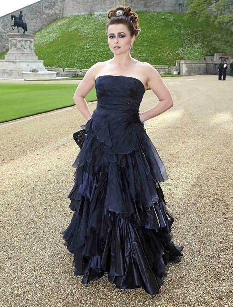 Helena Bonham Carter osallistui tällä viikolla Royal Marsden -syöpäsairaalan hyväntekeväisyysillalliselle Windsorin linnassa.
