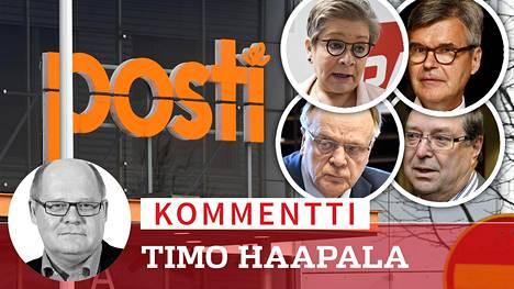 Työryhmään kuuluvat Ann Selin, Jukka Ahtela, Lauri Ihalainen ja Lasse Laatunen.