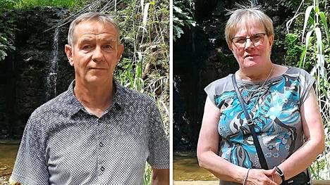 Jukka Mero ja Irja Kalske ovat viihtyneet Espanjassa jo neljä talvea.