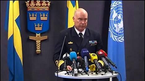 Kontra-amiraali kertoo Ruotsin sukellusvenejahdista