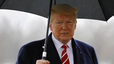Presidentti Donald Trump haluaa Meksikon ja Yhdysvaltojen rajalle muurin.