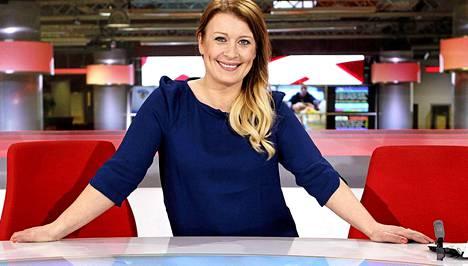 Kirsi Alm-Siira on työskennellyt MTV3:n uutisankkurina yhdeksän vuotta.