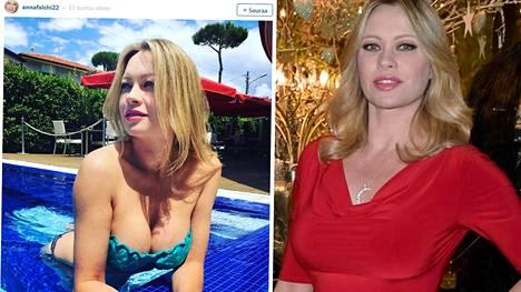 Anna Falchi on 45-vuotias suomalaissyntyinen malli.