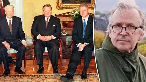 Alpo Rusi muistelee edellistä kertaa, jolloin Yhdysvaltojen ja Venäjän presidentit tapasivat Suomessa.