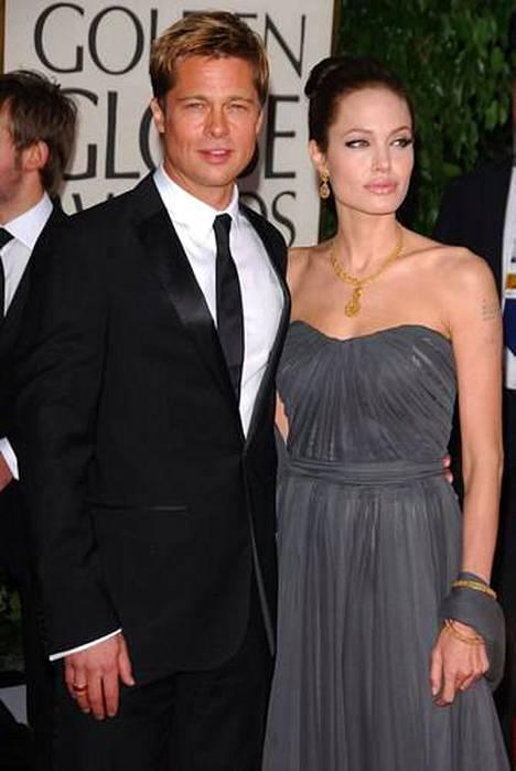 Angelina Jolien ja Brad Pittin unelmaliitto päätyi eroon vuonna 2016.