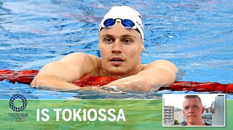 Ari-Pekka Liukkonen on jo Tokiossa viimeistelemässä virettään.