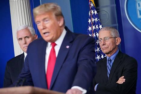 Presidentti Donald Trumpin mukaan DPA-lain käyttöön ottamiselle ei ole toistaiseksi ollut tarvetta, vaikka laki onkin hänen mukaansa jo täysmääräisesti voimassa.