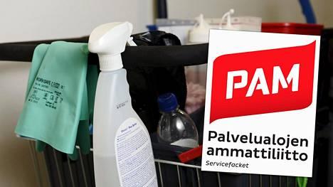 Siivousalan ongelmat nousivat puheenaiheeksi viikonloppuna. PAM:in mukaan siivousalan ongelmat korostuvat ainakin Uudellamaalla moniin muihin palvelualoihin verrattuna.