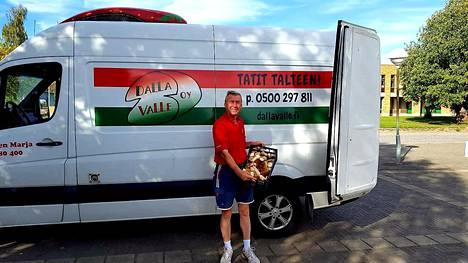 Dalla Valle on myynyt herkkutatteja Suomesta Eurooppaan 30 vuotta.