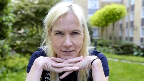 Laura Manninen, 46, yllätti itsensä ja muut. Arkistokuva.