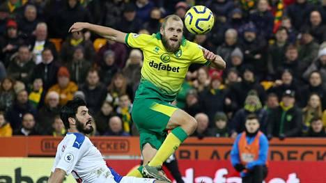 Teemu Pukki uurasti keskiviikkona Crystal Palacea vastaan 82 minuutin ajan, mutta ei onnistunut lisäämään kauden maalisaldoaan.