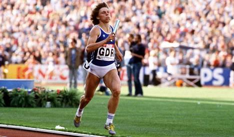 Marita Koch vuonna 1986.