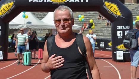 Ahola ilmoittautui jo ensi vuodenkin Tukholman maratonille.