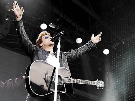 Bon Jovi palaa Olympiastadionille.
