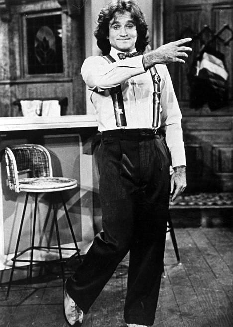 Robin Williams teki läpimurtonsa Hollywoodissa Ystäväni avaruudesta -tv-sarjassa, jota esitettiin vuosina 1978–1982.