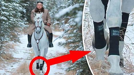 Suomalaiset hevosharrastajat saattoivat hieraista silmiään Kim Jong-unin ratsastuskuvia katsoessaan.
