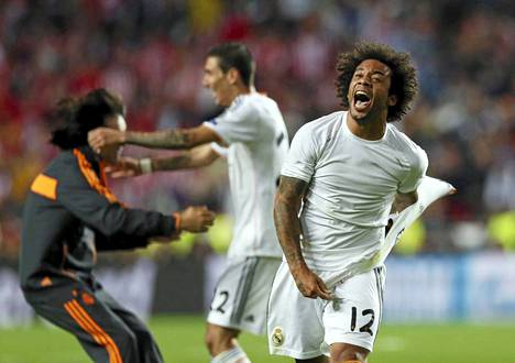 Brassitähti Marcelo tuuletti 3-1-maalia.