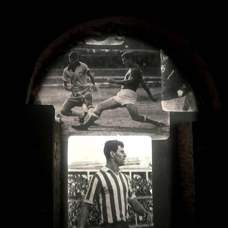 Museossa voi katsella myös harvinaisia videopätkiä neuvostojalkapallosta.