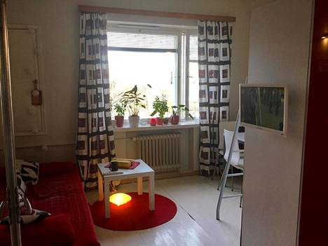 Televisio seinälle ja kasvit ikkunalaudalle!