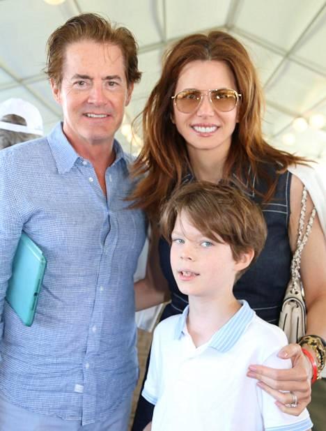 MacLachlan avioitui Desirée-vaimon kanssa 2002. Callum syntyi 2008.