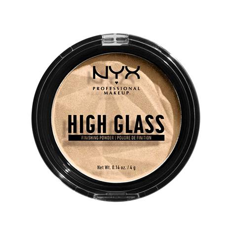 Nyx Professional Makeup High Glass Finishing Powderia saa kolmessa eri sävyssä vaaleasta tummaan, 13,90 €.