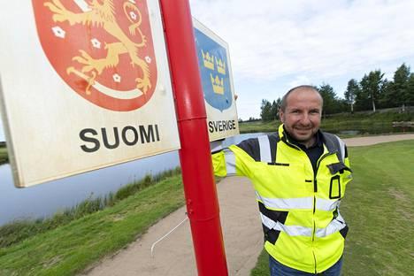 Tornion Golf Oy:n toimitusjohtaja Jukka Ryhänen.