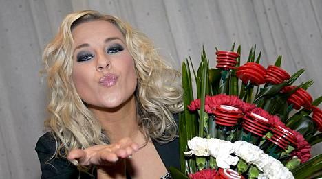 Krista Siegfrids valittiin viikonloppuna Suomen euroviisuedustajaksi.
