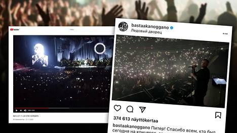 Bi-2-yhtyeen ja räppäri Bastan jättikonsertit Pietarissa synnyttivät kohun koronavirussääntöjen laiminlyönnistä.