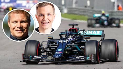 Lewis Hamilton sai kovan rangaistuksen Venäjän GP:ssä.