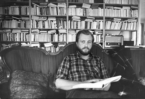 Krittinen vasemmistokirjailija Christer Kihlman 1970-luvulla.