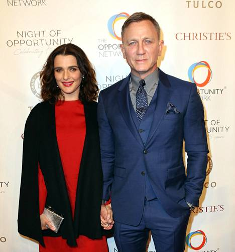 Rachel Weiszilla ja Daniel Craigilla on yksi yhteinen lapsi.