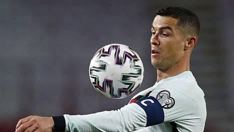 Portugalin kapteeni Cristiano Ronaldo joutui pettymään Belgradissa.
