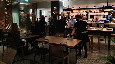 Uusi ravintola sijaitsee Hotel St. Georgen katutasossa.