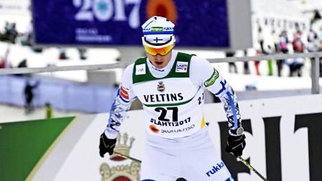 Hannu Manninen osoitti Lahden MM-kisoissa olevansa yhä vahvistus Suomen yhdistetyn maajoukkueelle.