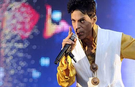 Pop-legenda Prince kuoli yllättäen tällä viikolla. Kuva vuodelta 2011.