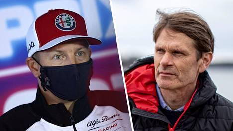 Rallilegenda Marcus Grönholmilla (oik.) on mielenkiintoinen ehdotus F1-uransa päättävälle Kimi Räikköselle.
