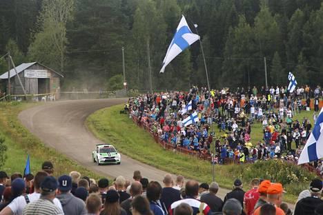 Legendaarinen Ouninpohja on ollut yksi Suomen MM-rallin nopeimmista erikoiskokeista.