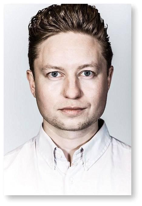 Tutkijatohtori Henrik Rydenfelt.