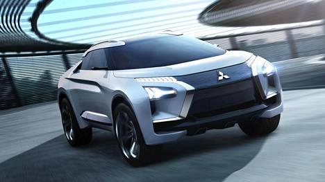 Tältä näyttää Mitsubishin konseptiauto. Vastaako se todellisuutta? Se nähdään vasta vuosien päästä.